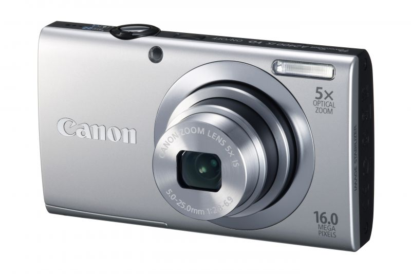 Canon PowerShot A2400is (4 színben) (ezüst)