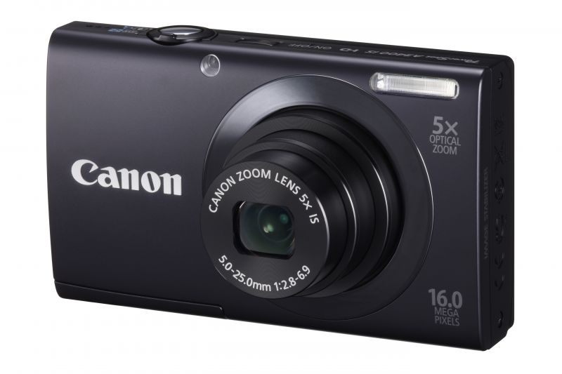 Canon PowerShot A3400is (4 színben) (fekete)
