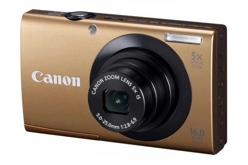 Canon PowerShot A3400is (4 színben) (arany)