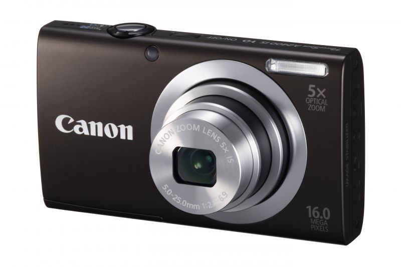 Canon PowerShot A2400is (4 színben) (fekete)