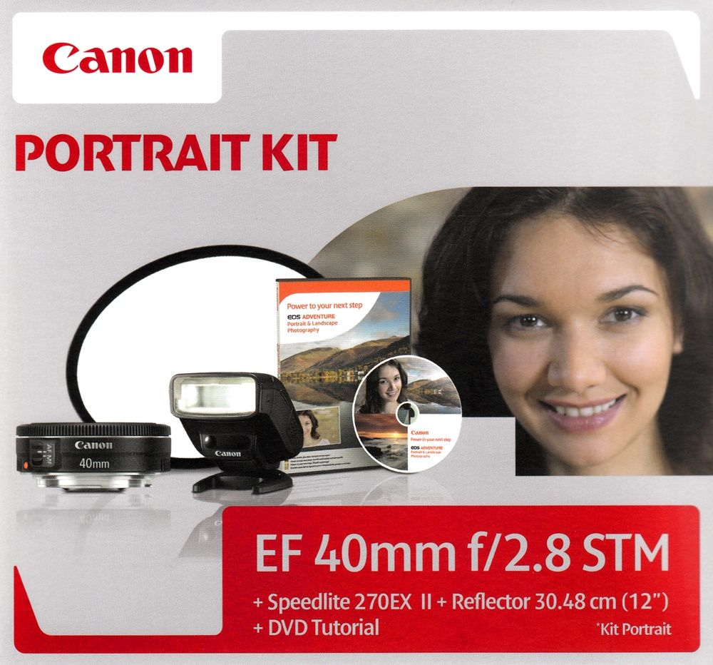 Canon EF 40mm / 2.8 STM Portrait KIT
