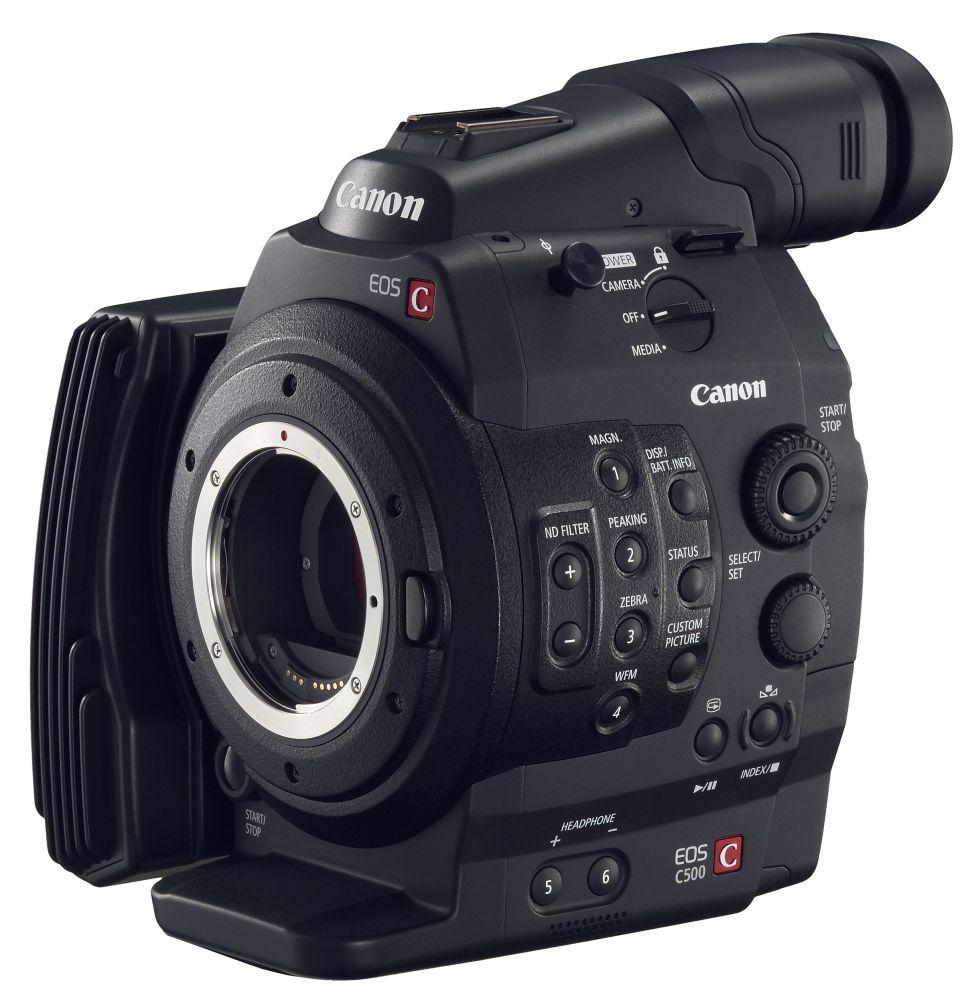 Canon EOS C500 (EF bajonettel) body