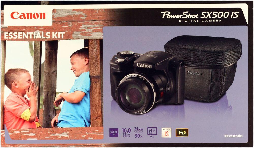 Canon PowerShot SX500is (Essentials kit)