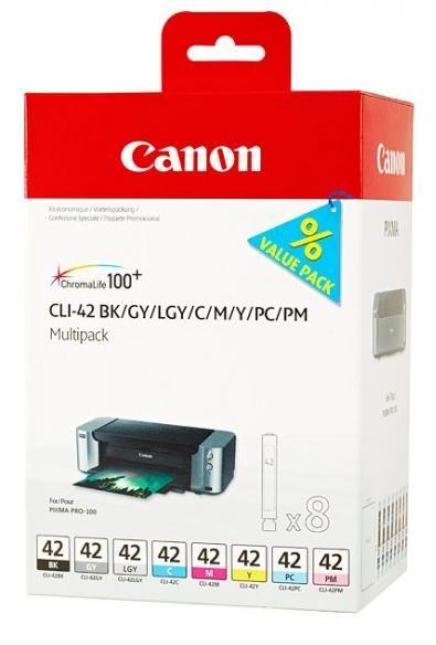 Canon CLI-42BK/GY/LGY/C/M/Y/PC/PM