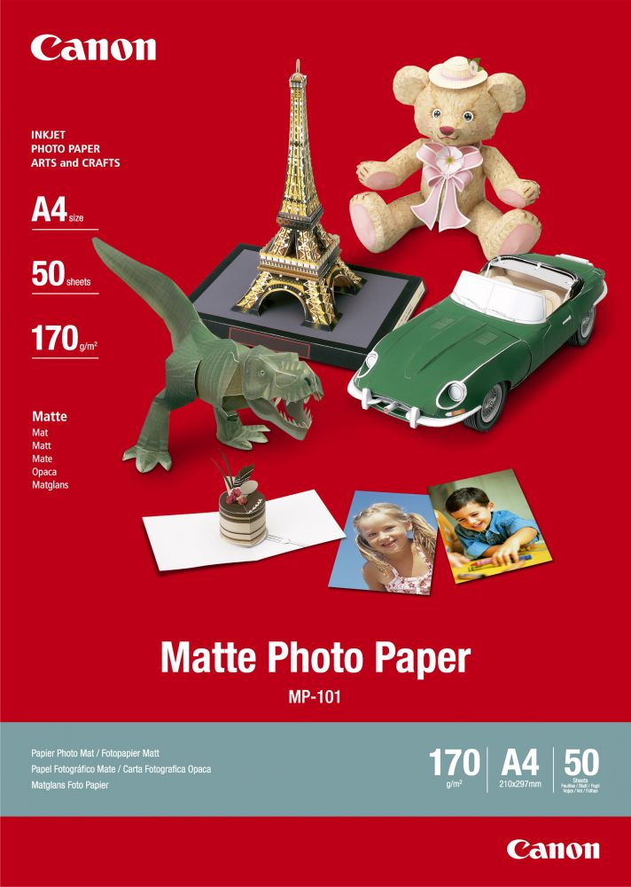 Canon Matte Photo Paper MP-101 (A4)