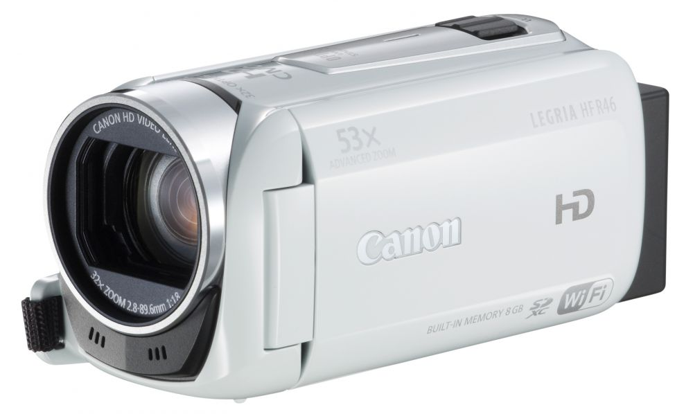 Canon LEGRIA HF R46 (Wi-Fi) (3 színben) (fehér)