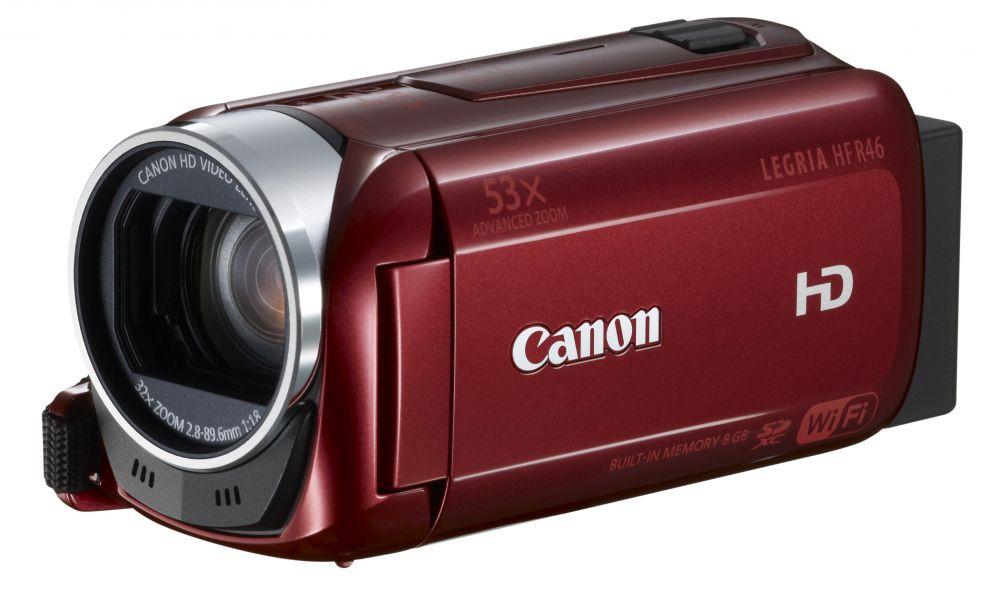 Canon LEGRIA HF R46 (Wi-Fi) (3 színben) (piros)