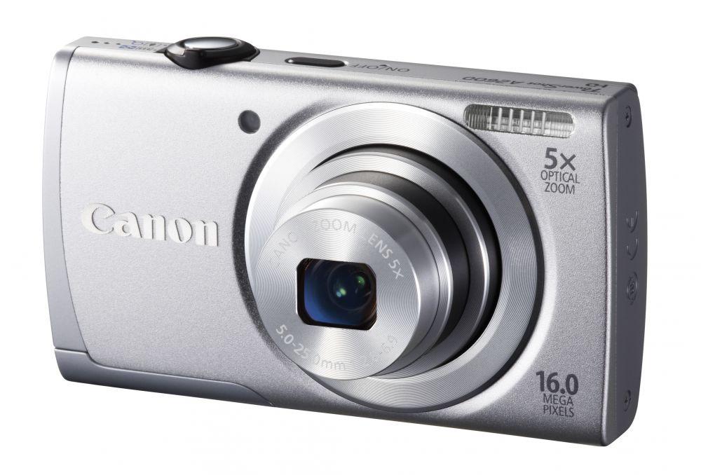 Canon PowerShot A2600 KIT (4 színben) (ezüst)