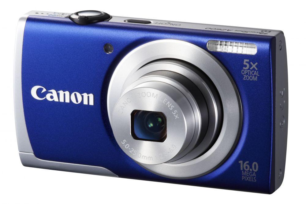 Canon PowerShot A2600 KIT (4 színben) (kék)