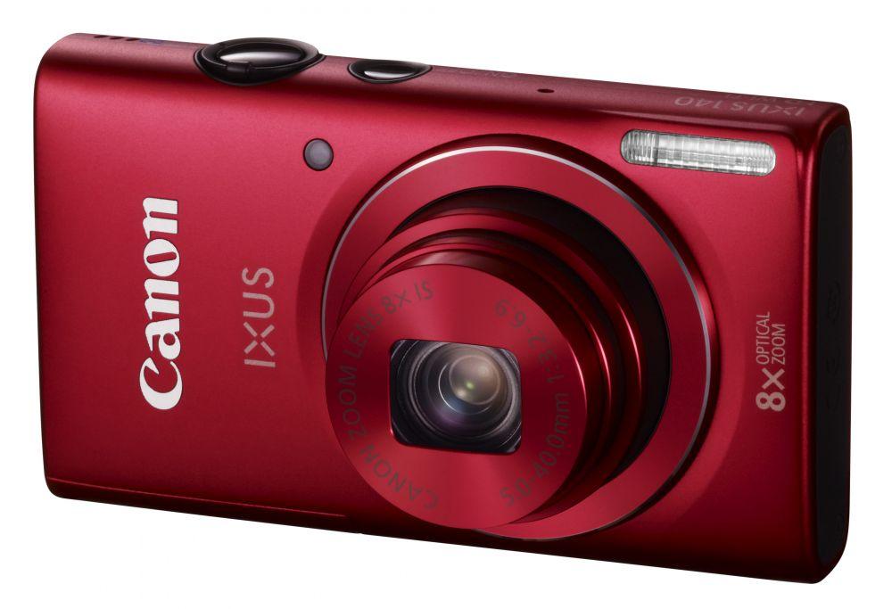 Canon IXUS 140 (Wi-Fi) (4 színben) (piros)