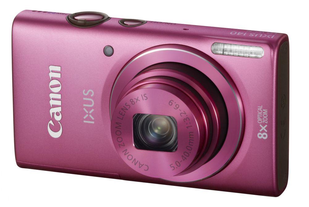 Canon IXUS 140 (Wi-Fi) (4 színben) (rózsaszín)