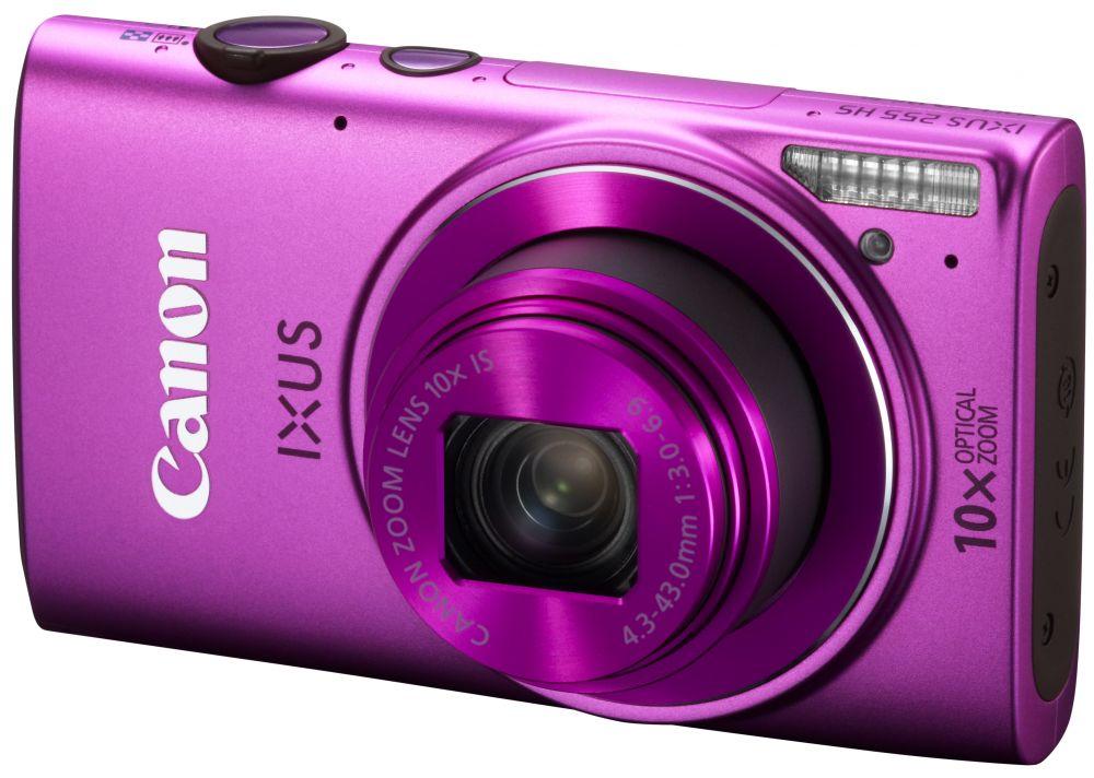 Canon IXUS 255HS (Wi-Fi) (3 színben) (rózsaszín)
