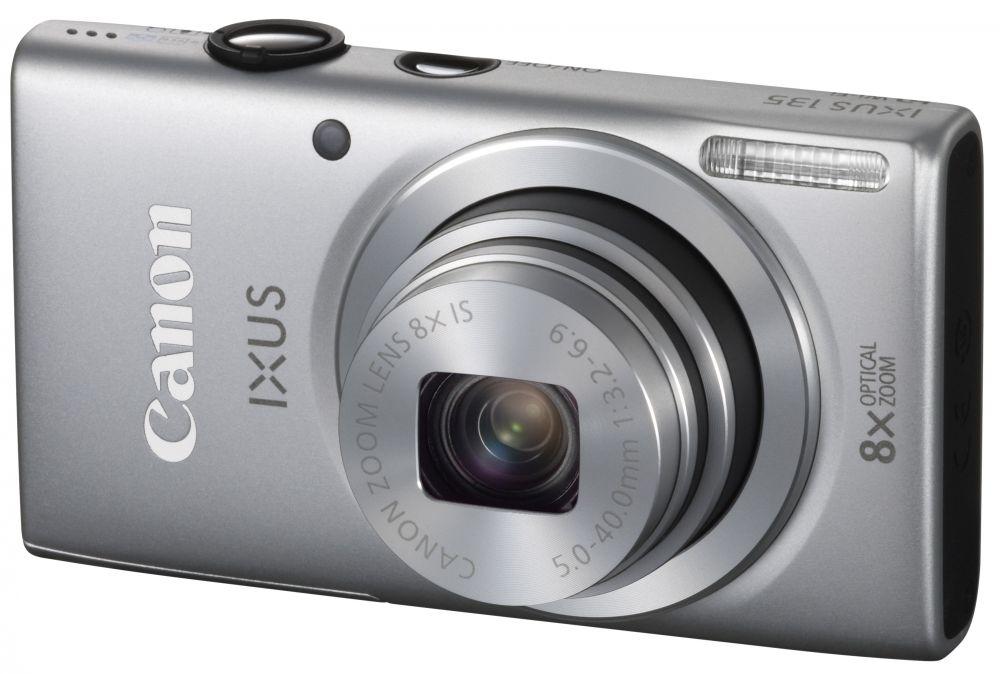 Canon IXUS 135 (Wi-Fi) (4 színben) (ezüst)