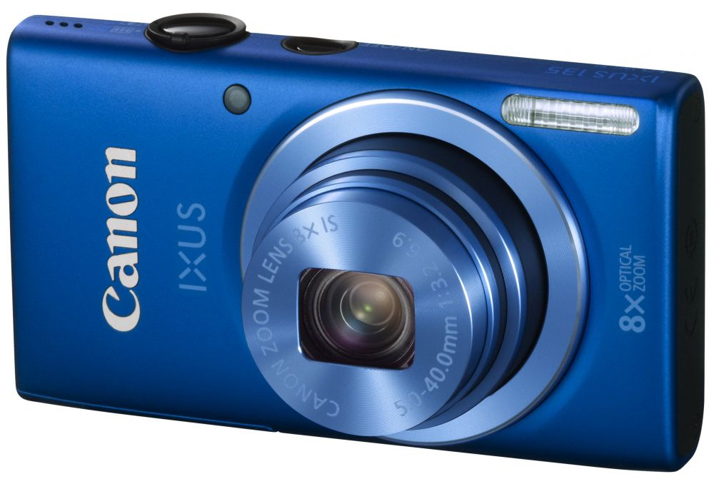 Canon IXUS 135 (Wi-Fi) (4 színben) (kék)