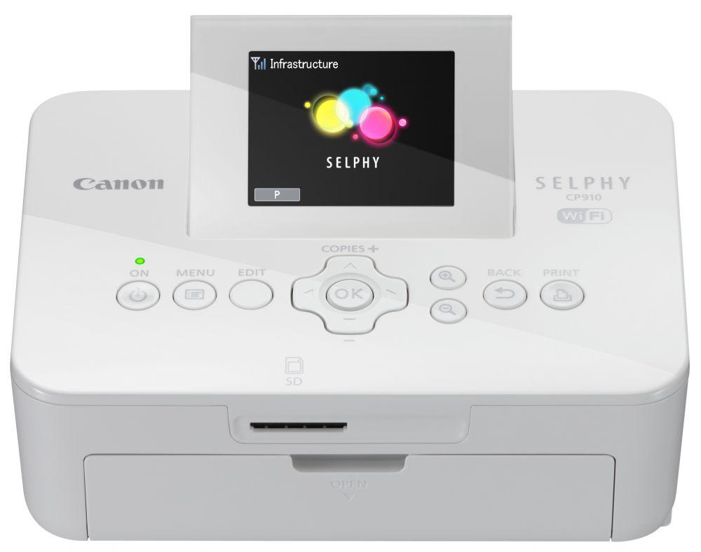 Canon SELPHY CP910 fotónyomtató (Wi-Fi) (2 színben) (fehér)