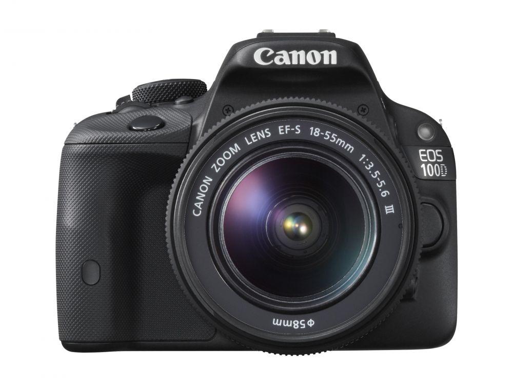 Canon EOS 100D + EF-S 18-55mm / 3.5-5.6 III (2 év Garancia)