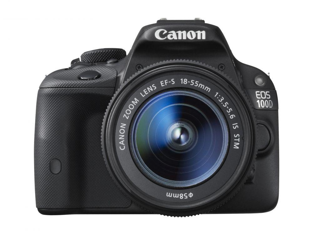 Canon EOS 100D +EF-S 18-55mm /3.5-5.6 IS STM +EF-S 55-250mm /4.-5.6 IS STM (3 év Garanciával**)