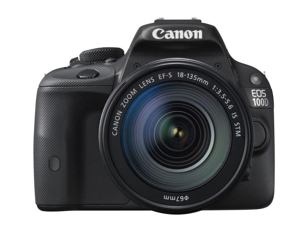 Canon EOS 100D + EF-S 18-135mm / 3.5-5.6 IS STM (3 év Garanciával**)