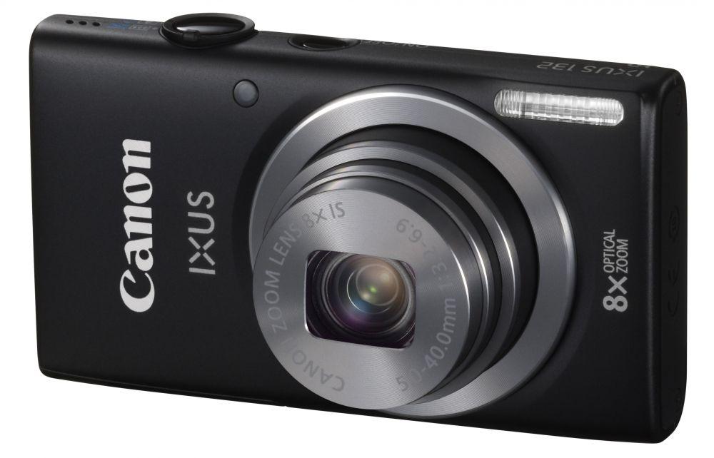 Canon IXUS 132 (4 színben) (fekete)