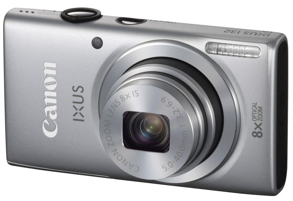 Canon IXUS 132 (4 színben) (ezüst)