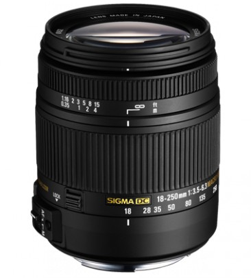 Sigma 18-250mm / 3.5-6.3 DC OS HSM MACRO (for Canon)