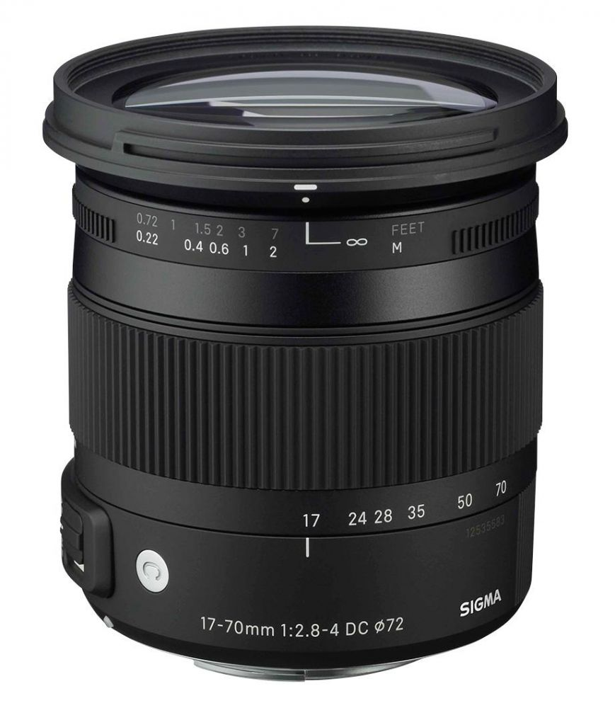 Sigma 17-70mm / 2.8-4 DC Macro OS HSM (C) (for Canon)