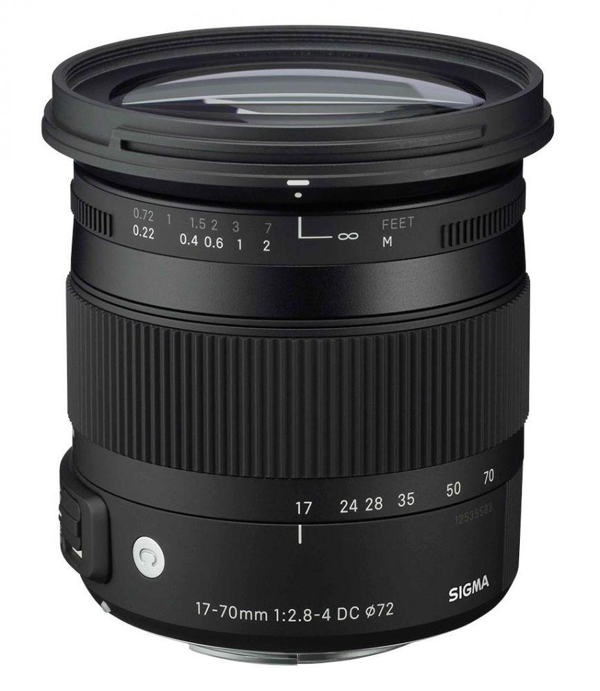 Sigma 17-70mm / 2.8-4 DC Macro OS HSM (C) (for Nikon)