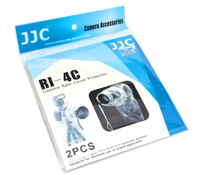 JJC RI-4C esővédő huzat DSLR gépekhez (2db)