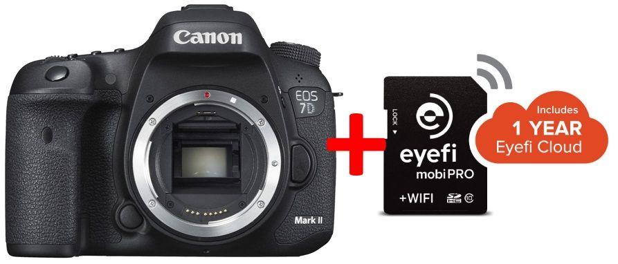 Canon EOS 7D mark II + 32GB EyeFi KIT (3 év garancia**)
