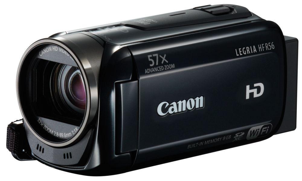 Canon LEGRIA HF R56 (Wi-Fi) (2 színben) (fekete)