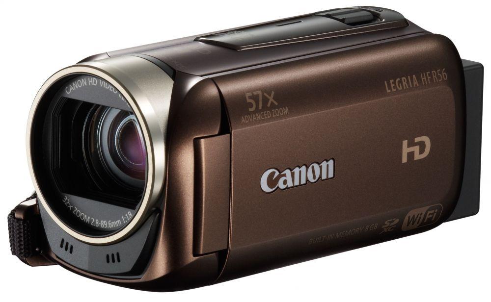 Canon LEGRIA HF R56 (Wi-Fi) (2 színben) (barna)