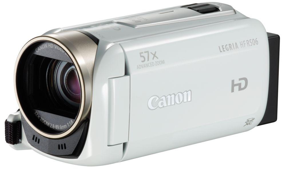 Canon LEGRIA HF R506 (2 színben) (fehér)