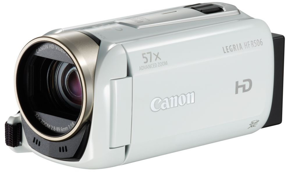 Canon LEGRIA HF R506 Essentials KIT (fehér)