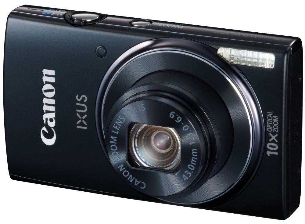 Canon Ixus 155 (4 színben) (fekete)