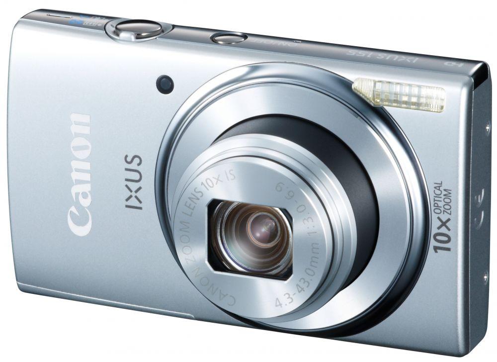 Canon Ixus 155 (4 színben) (ezüst)