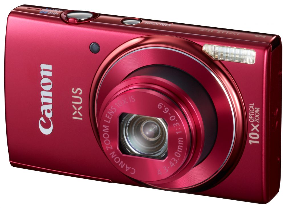 Canon Ixus 155 (5 színben) (piros)