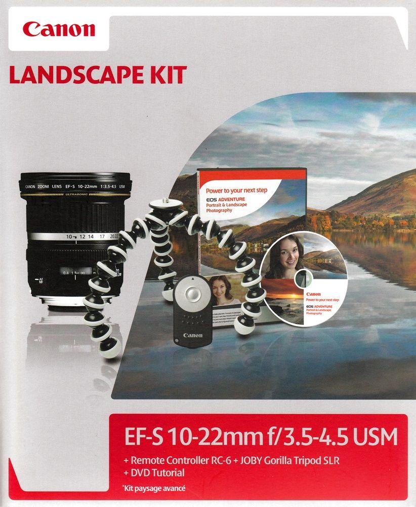 Canon EF-S 10-22mm / 3.5-4.5 USM Landscape KIT