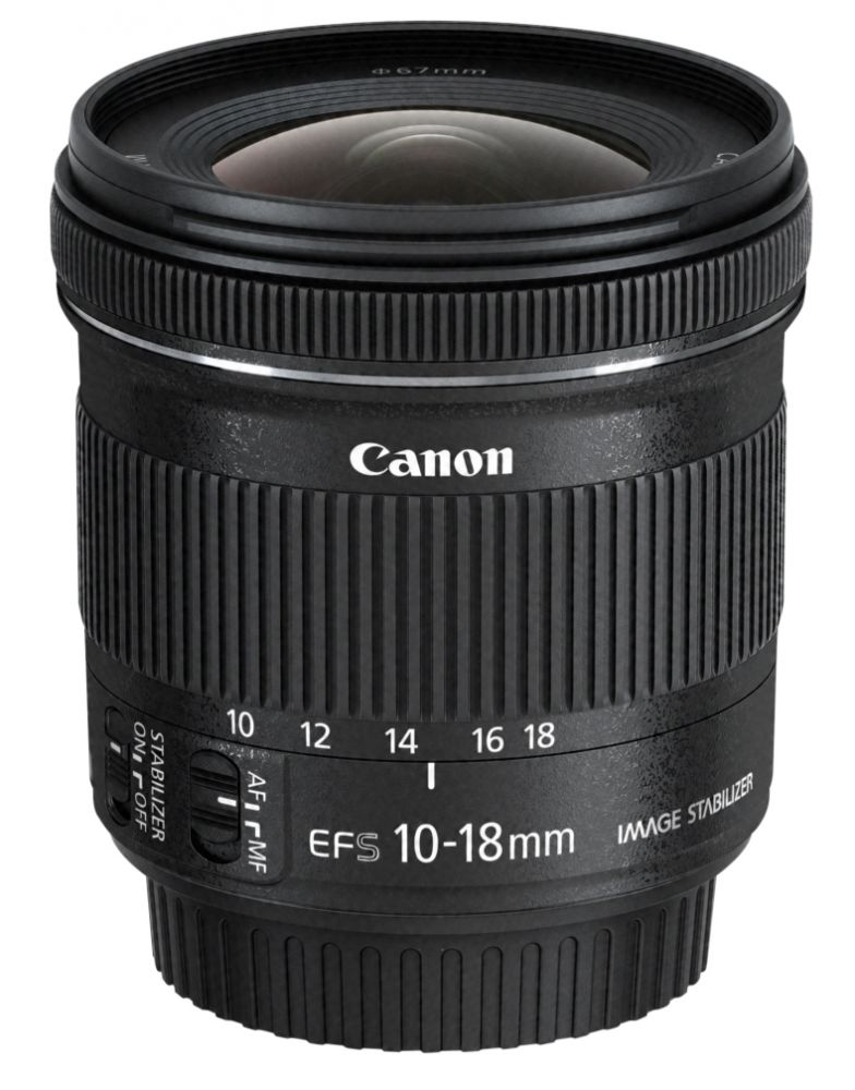 Canon EF-S 10-18mm / 4.5-5.6 IS STM