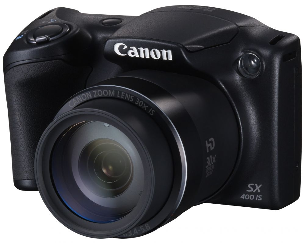 Canon PowerShot SX400is (fekete)