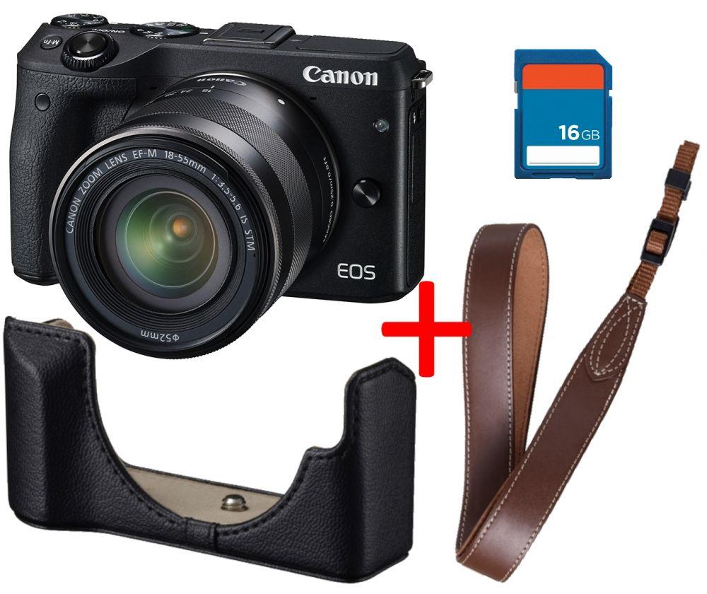Canon EOS M3 + EF-M 18-55mm / 3.5-5.6 IS STM Premium KIT