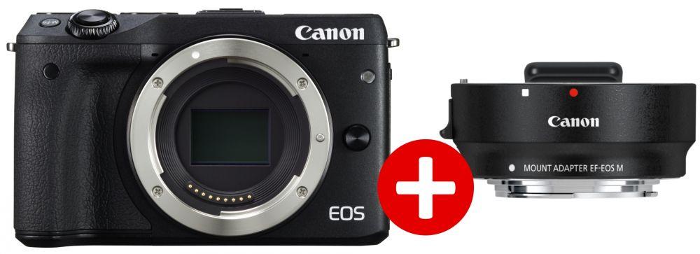 Canon EOS M3 váz + adapter KIT