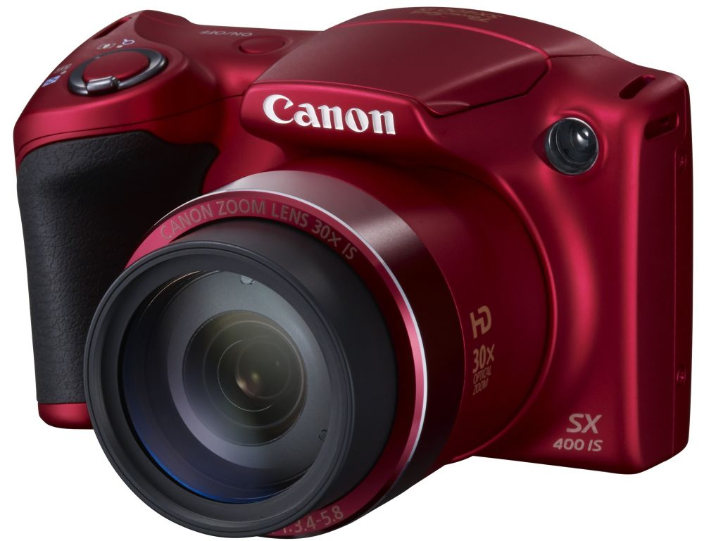 Canon PowerShot SX400is (piros)