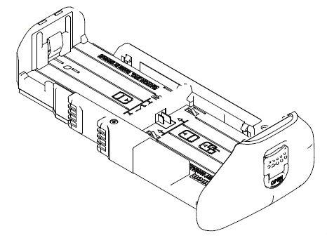 Canon LP-E6 akkumulátor tartó (BG-E13)