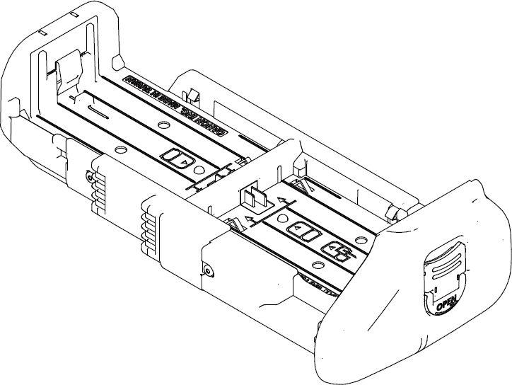 Canon LP-E6N akkumulátor tartó (BG-E16)