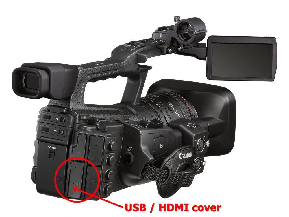Canon USB/HDMI porvédő kupak (for XF300 + XF305)
