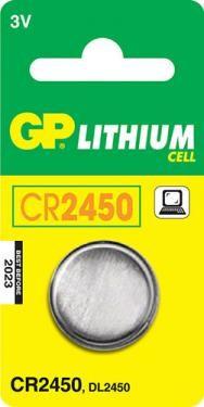 GP CR 2450 3V lítium elem