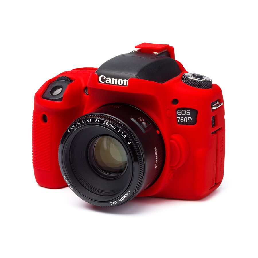 easyCover (Canon EOS 760D) (3 színben) (piros)