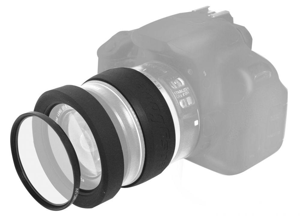 easyCover objektív védő KIT (7 méret) (62mm)