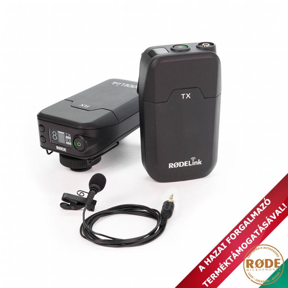 Rode Filmmaker vezeték nélküli csíptetős mikrofon kit