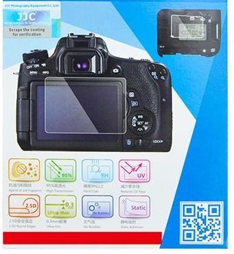 JJC EOS 7D mark II LCD kijelző védő üveg
